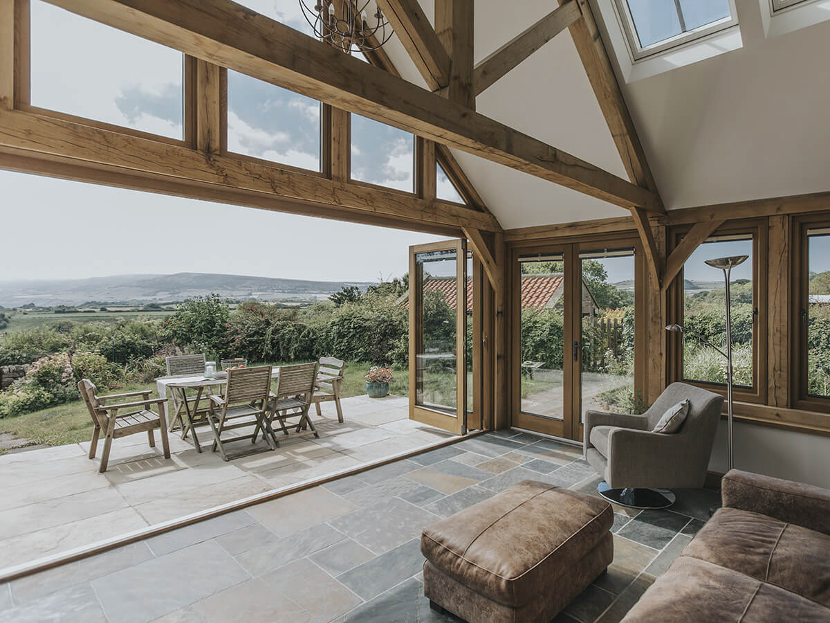 Oak Framed Conservatories Timber House Extensions By