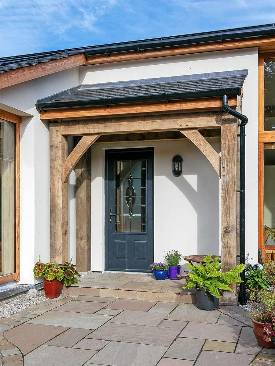 Oak frame home in Scotland
